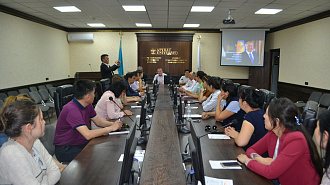 "A meeting was held on the topic ""The role of Elbasy in the Establishment and Development of Independent Kazakhstan"""