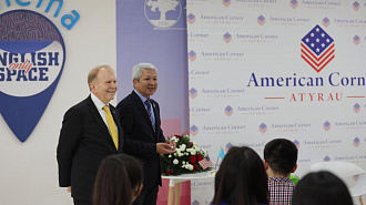 American Ambassador is our guest